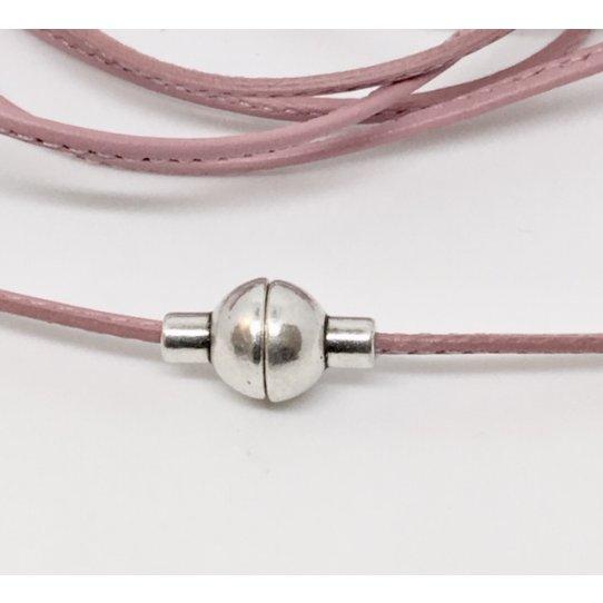Fermoir aimanté pour cordon rond de 2mm