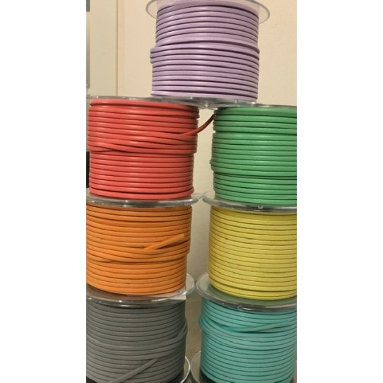 Cuir de veau 3mm Candy -nouvelles couleurs