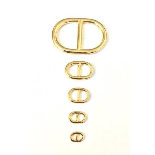 Mailles marine, étain doré à l'or fin 24 carat fabrication Française