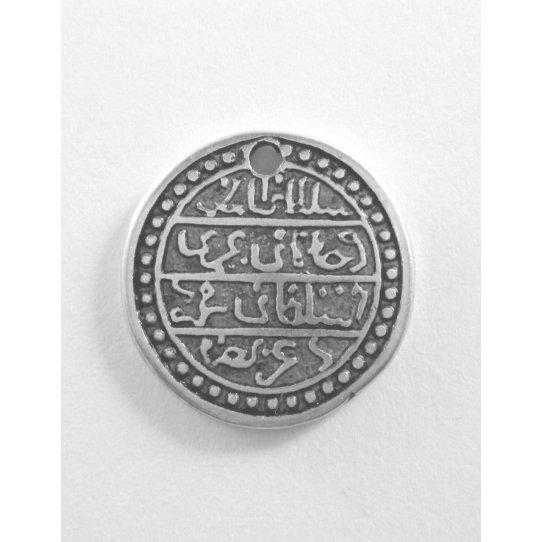 10 Pendants  pièce de monnaie arabe