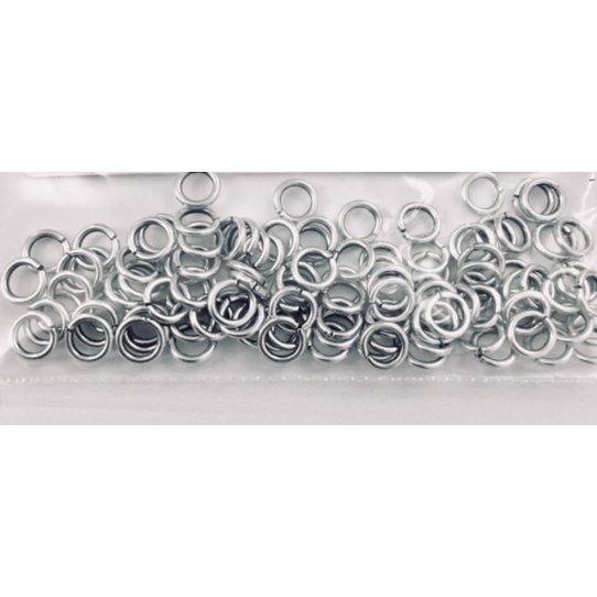 100 anneaux 5mm fin