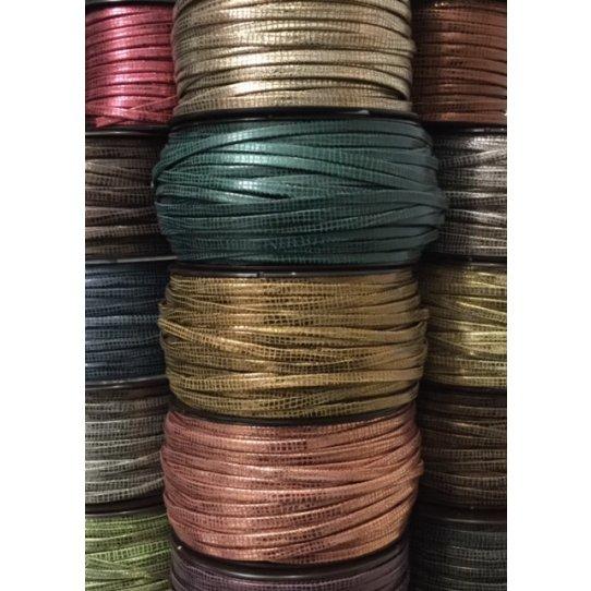 15 couleurs de Cuir 5 mm Balade ecossaise