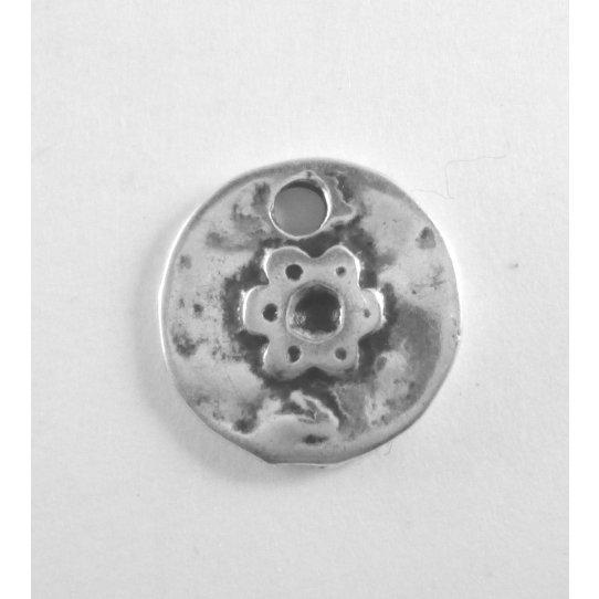 30 Pendants médaille avec fleur
