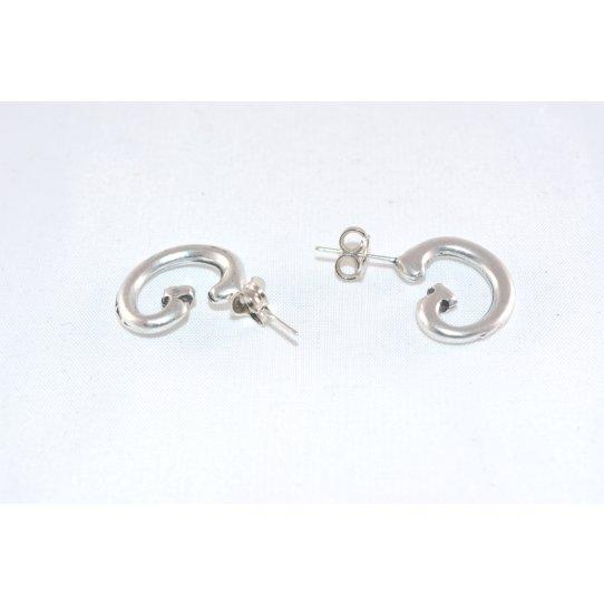 Boucles d'oreille demi-créole