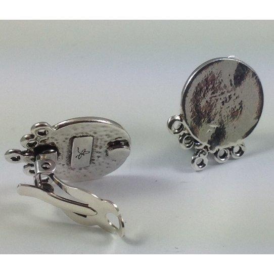 Boucles d'oreilles à clips FABRICATION FRANCAISE