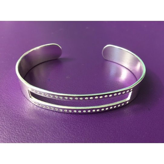 Bracelet en laiton pour miyuki, plaqué 10 microns en France