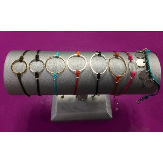 Cercle en laiton de 10 mm, plaqué argent 10 microns en France