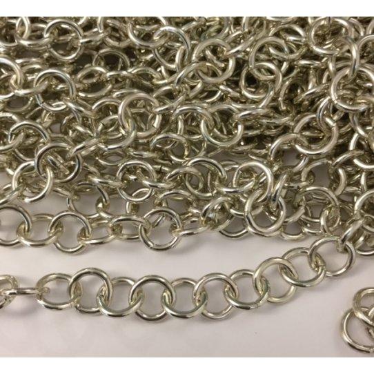 Chaine aluminium rond