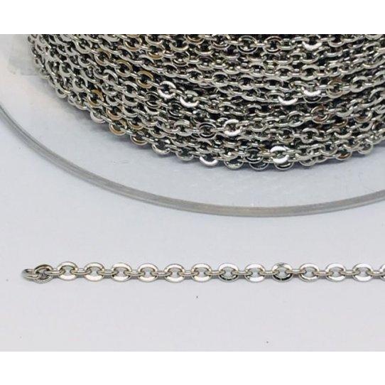 Chaine fine classique en acier
