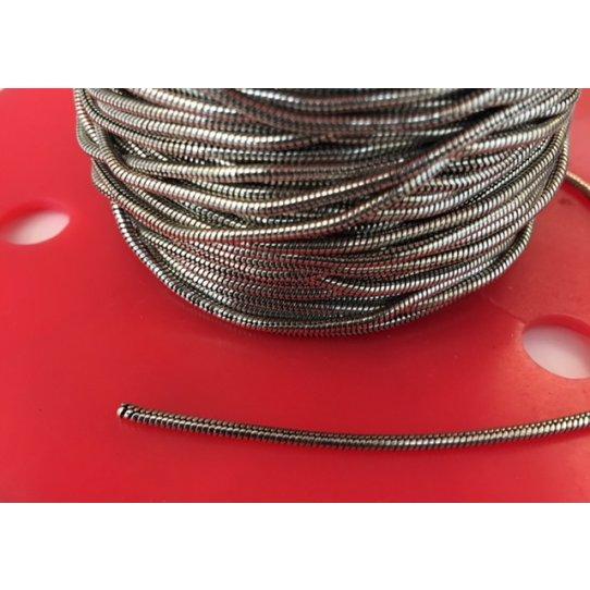 Chaine serpent en laiton plaqué argent 10 microns FR