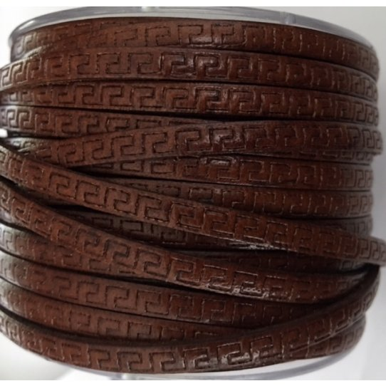 Cuir 5mm GRECA, marron, noir, bleu marine,kaki, bordeaux,bleu marine-6couleurs,