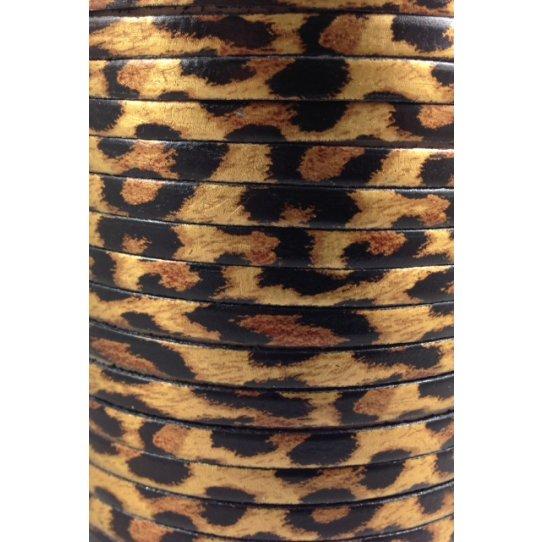 Cuir imprimé leopard