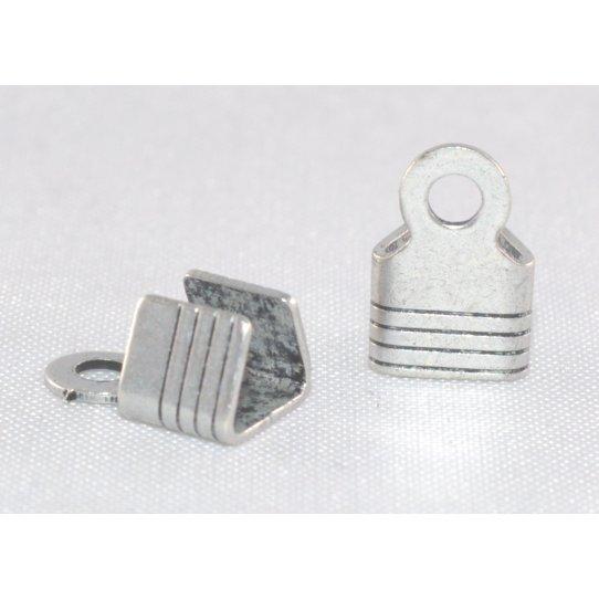 Embout 5 mm avec anneau  à écraser