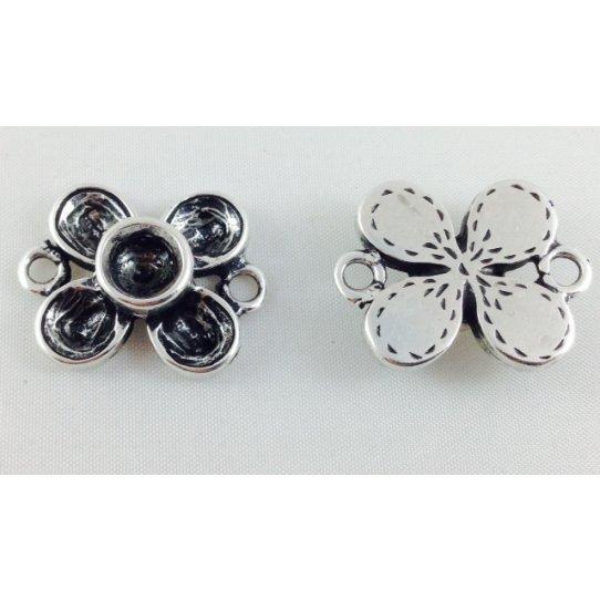Intercalaire avec 2 anneaux fleur