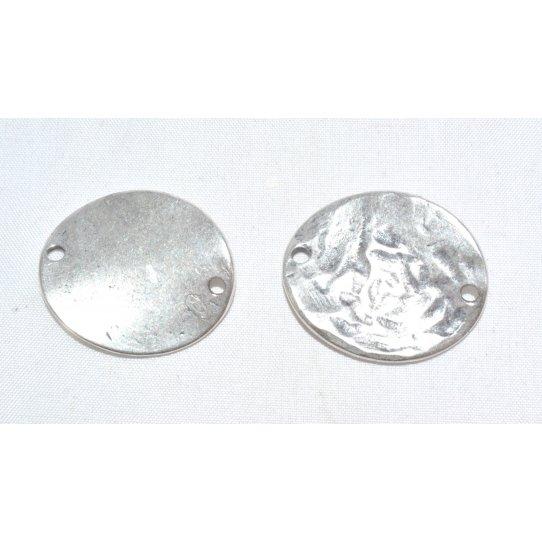 intercalaire ovale avec 2 trous