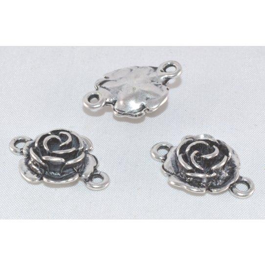 Intercalaire rose avec 2 anneaux