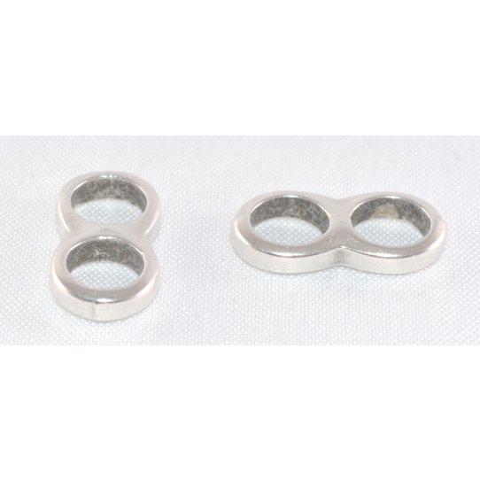Passant double anneaux 5mm