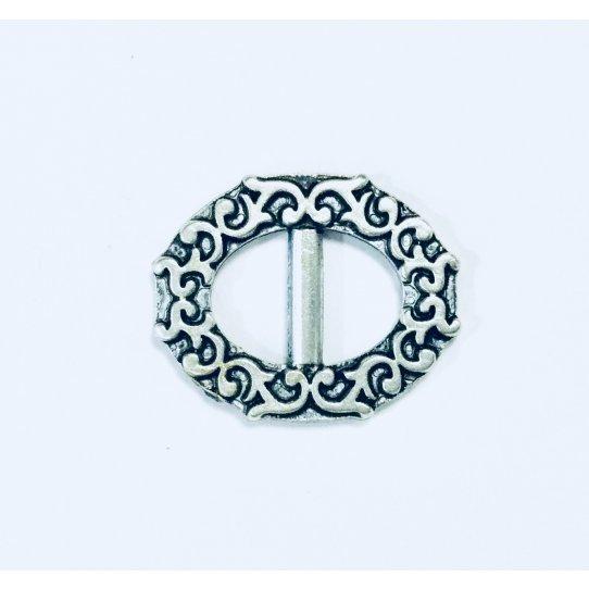 Passant ou intercalaire forme boucle de ceinture ovale