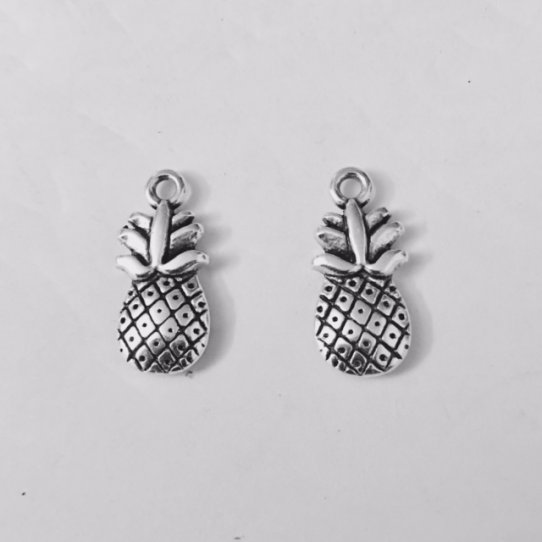 Pendant ananas double face