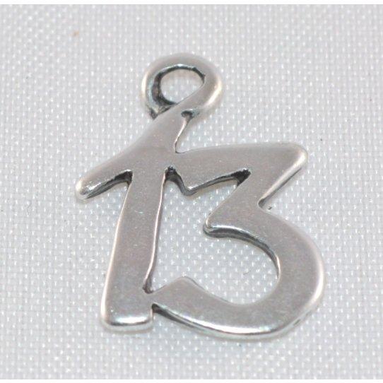 Pendant chiffre 13