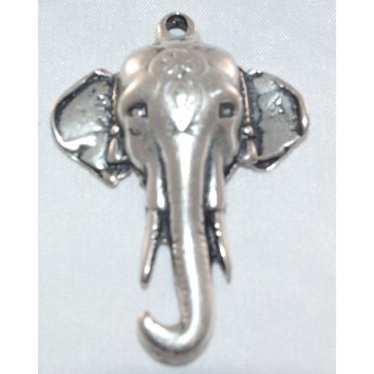 Pendant tête d'éléphant