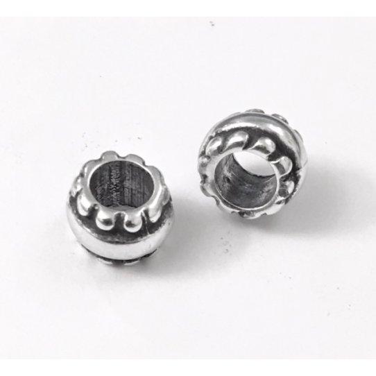 Perles avec motif diamètre 4.80mm