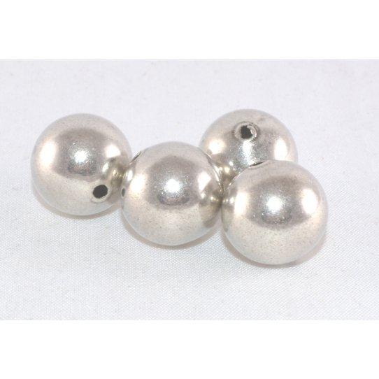 perles en metal 14mm de diamètre