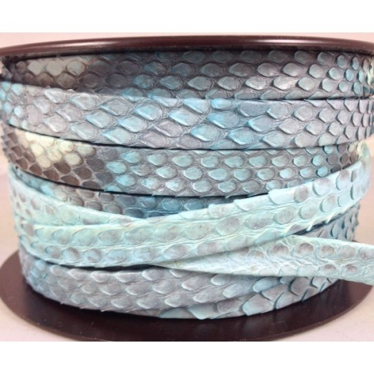 20cm Véritable Python 10mm peint main
