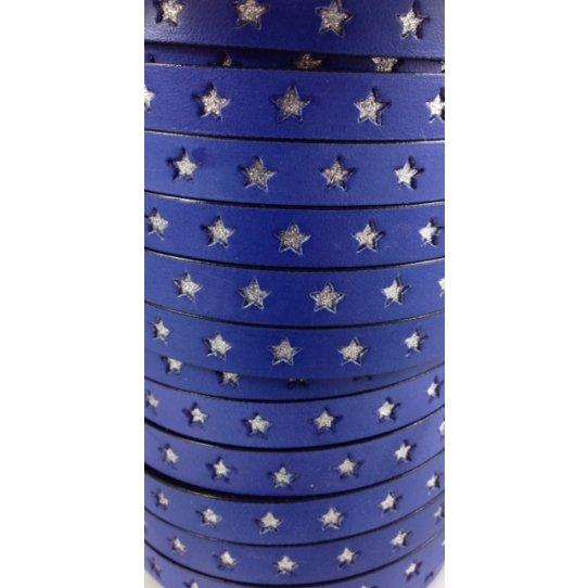 Cuir 10mm étoile incrustée