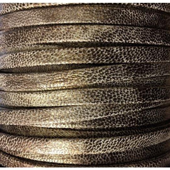 Cuir 5mm Ciré-NOUVELLES COULEURS