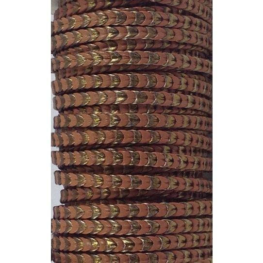 Cuir artisanat Italien 5mm, scoubidous