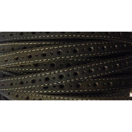 Cuir de 9 mm avec grand et petit trous