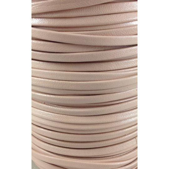 Cuir de chèvre couleurs pastels 5mm doublé