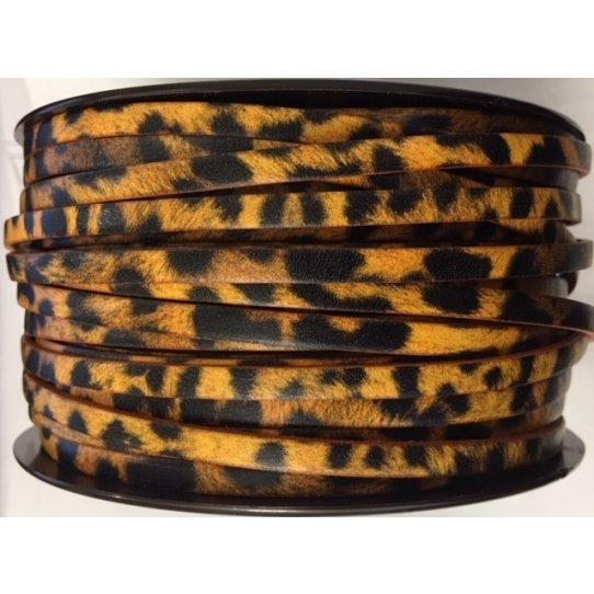 Cuir de Veau imprimé 5mm motif animaux