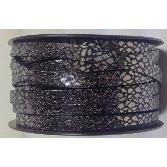 Cuir de veau motif spider 10mm-NOUVELLES COULEURS