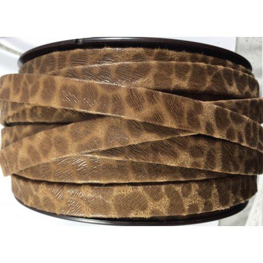CUIR EXCLUSIVITE iDIL 10mm léopards TON SUR TON