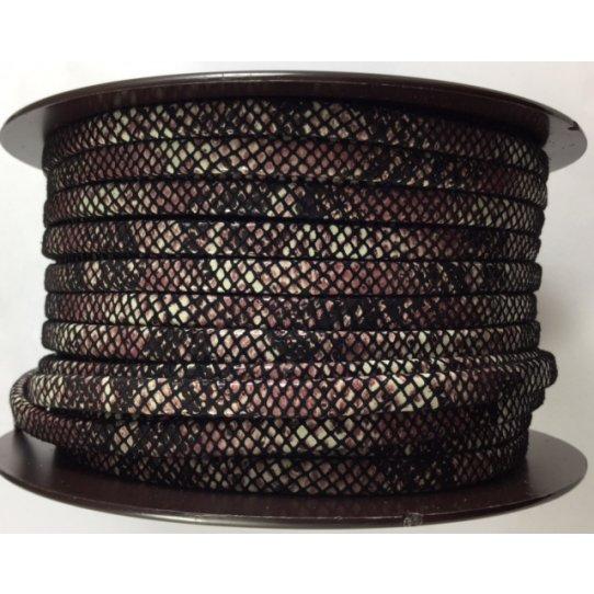 Cuir motif écaille 5mm haute couture