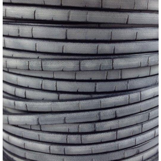 Cuir vintage(aspect vieilli) motif liège 5mm