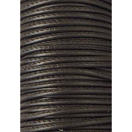 L599 Cuir cousu 1.5mm-43 COULEURS