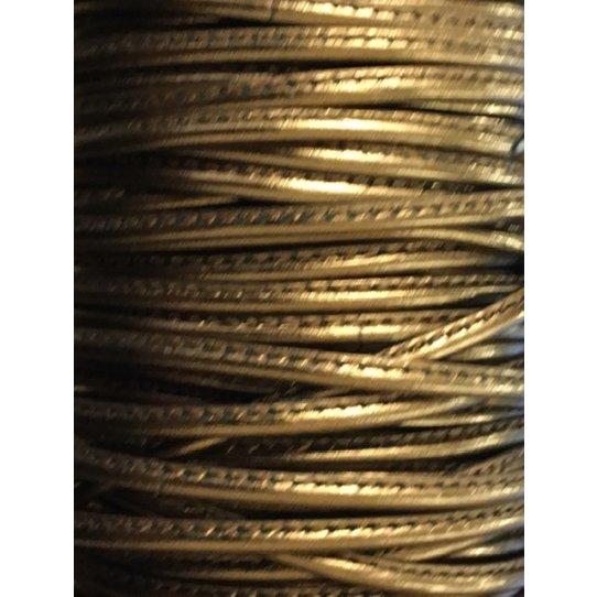 NOUVEAUTES Cuir de chèvre cousu 2.70mm métallisé,7 couleurs