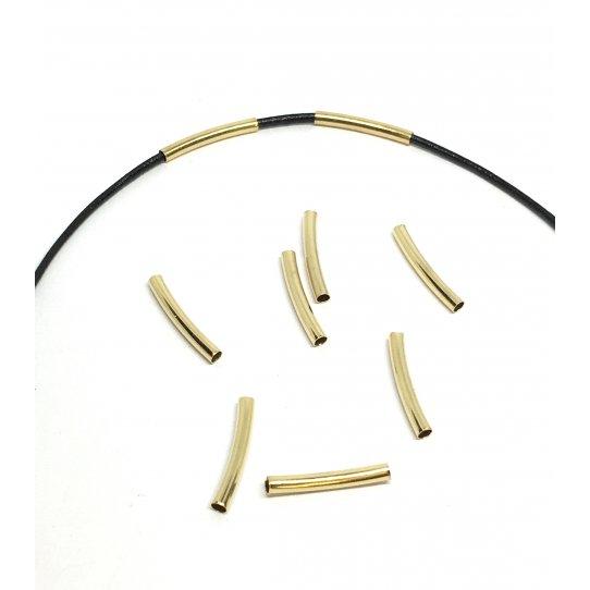 Petit tube en laiton 15 x1.2mm plaqués 10microns en France