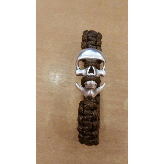 Fermoirs type ancre Tête de Mort