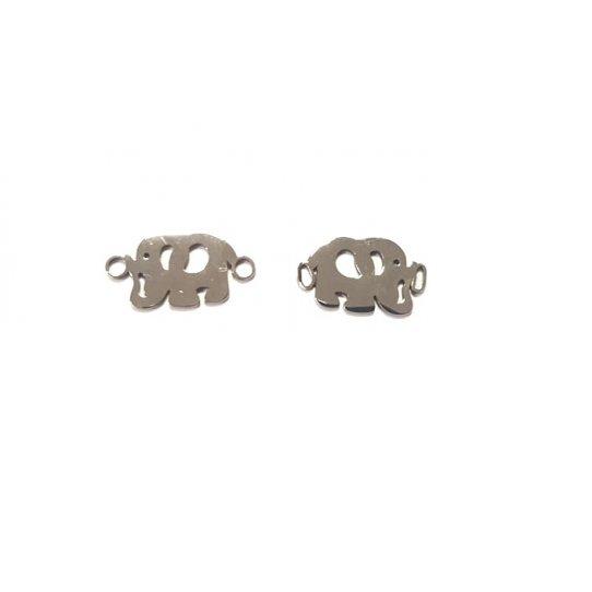 Intercalaire éléphant avec deux anneaux