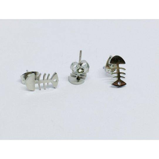 Boucles d'oreilles en acier chirurgical