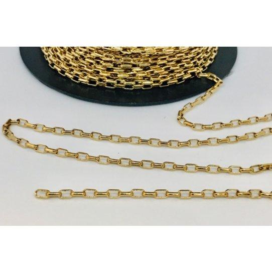 Chaine fine doré à l'or fin 24 carat en France, 1 micron