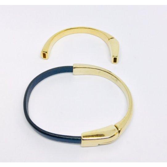 DEMI JONC 5mm doré pour réaliser des bracelets