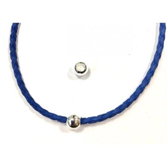 Perles en laiton 8mm diamètre externe gros trou interne 4mm